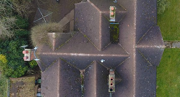 Pitched Roof Drone Survey